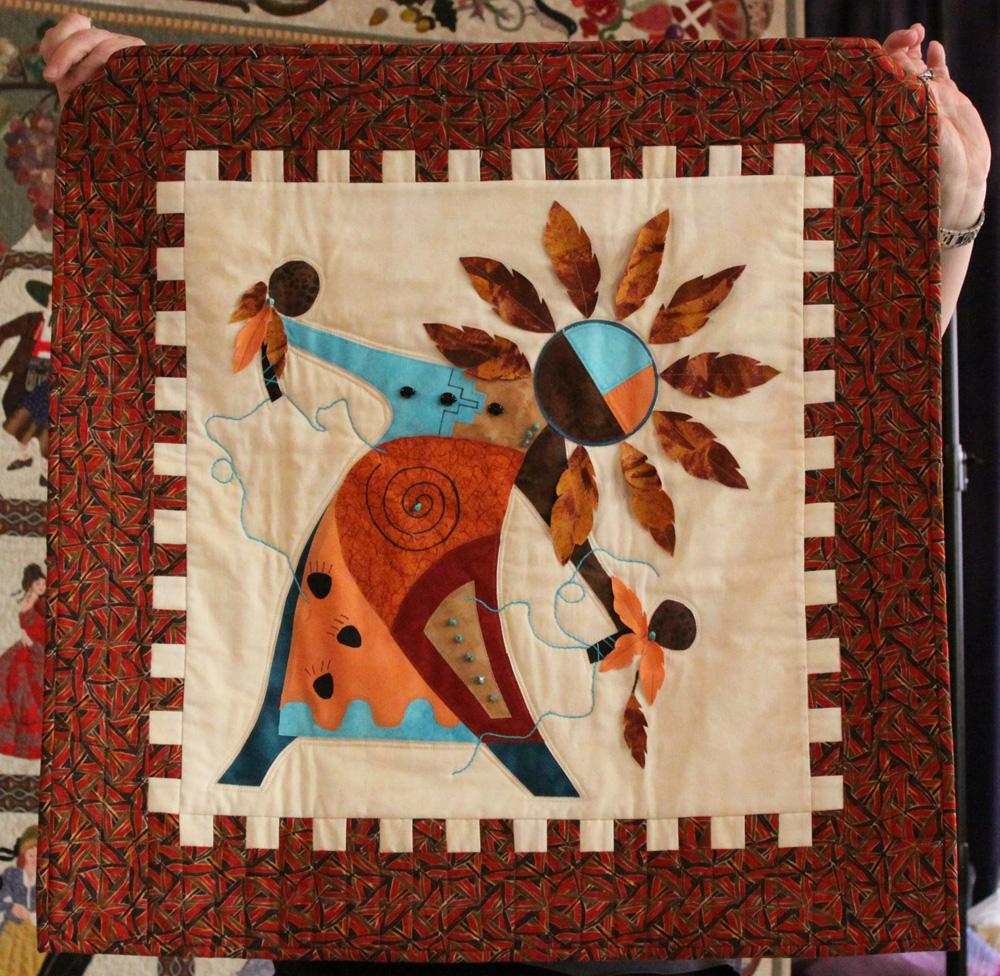 Va Native Plant Society: Quilters Showcase 02 12 2011